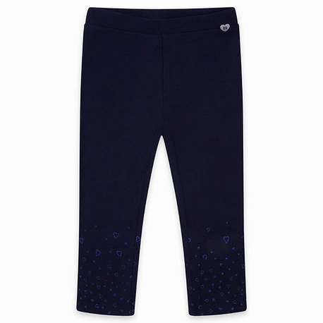Tuc Tuc -  Navy Jersey Leggings Hearts