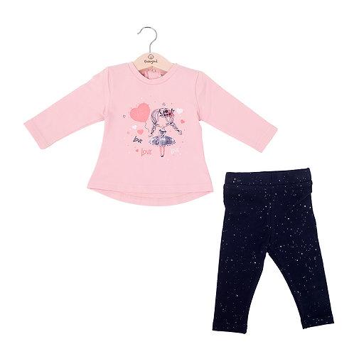 Babybol - Pink Long Sleeve & Leggings