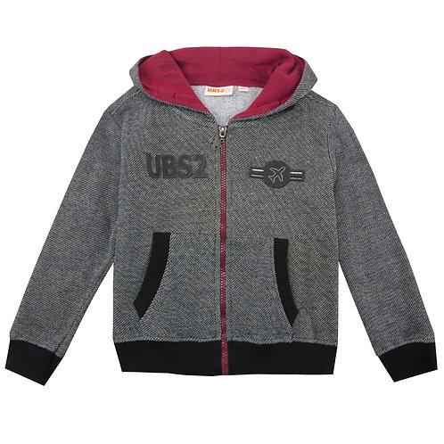 UBS2 - Grey Zip Hoodie