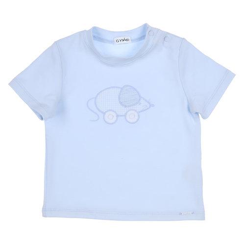 """GYMP - Light Blue T-Shirt """"LITTLE MOUSE"""""""