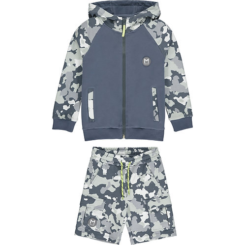 Mitch -Connecticut Camo Zipper Set
