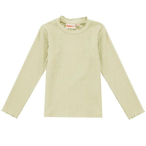 UBS2 - Girls Beige Long-Sleeve T-Shirt