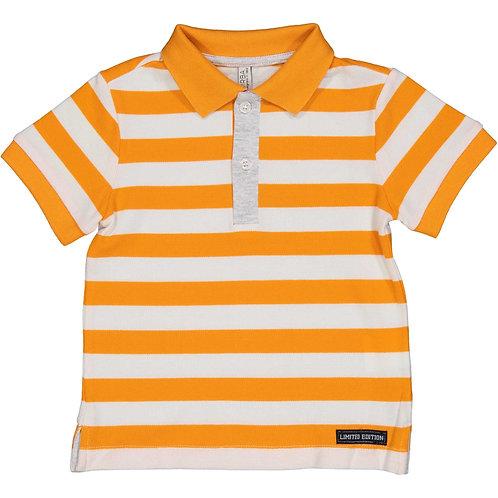 Birba - Orange Stripe Polo Shirt