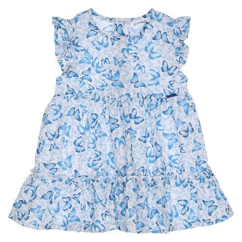 GYMP - White & Blue Dress