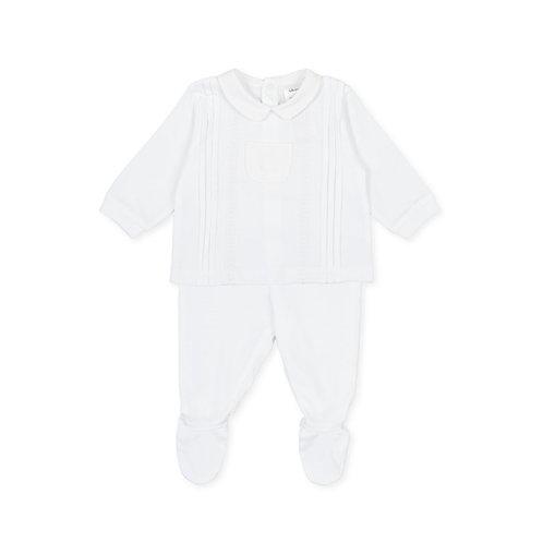 Tutto Piccolo - P.New Born White 2 Piece Set