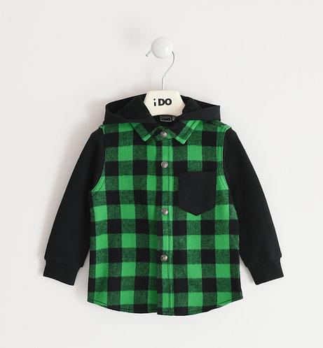 iDO - Green Long Sleeved Shirt