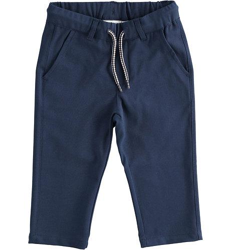 iDO - Navy Long Woven Trousers