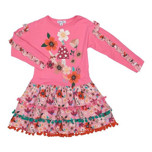 Happy Calegi - Long sleeve cotton dress
