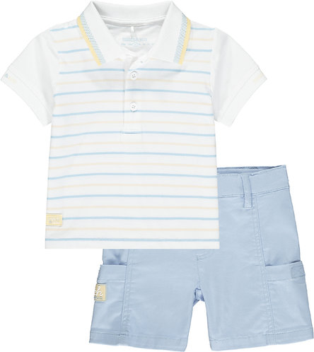 Mitch & Son - Blythswood Stripe Polo Set