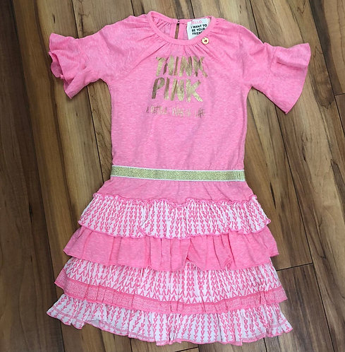 Hello - Pink Dress