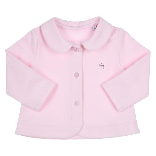 GYMP - Light Pink Cardigan Claudine Collar