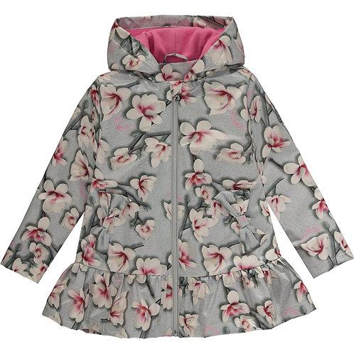 A Dee - Piper Magnolia Print Raincoat