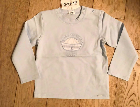 GYMP - Light Blue New To The Crew T-Shirt