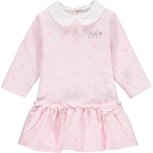 Little A - Augustina Heart Print Dress