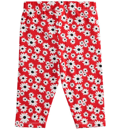 iDO - White/Red Short Leggings