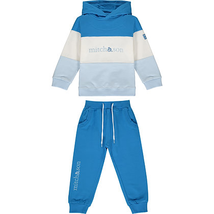 Mitch & Son Diego - Tracksuit with colour block panels