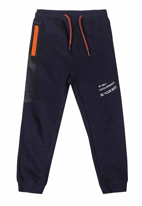 UBS2  -  Navy Blue Tracksuit Bottoms