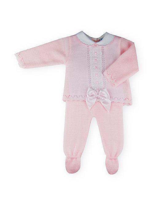 Sardon - Pink Knitted 2 Piece