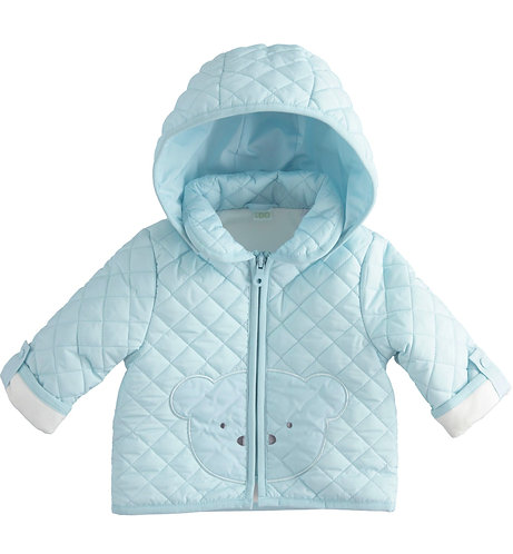 iDO - Sky Blue Padded Jacket