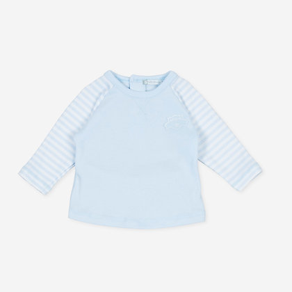Tutto Piccolo Pixi - Light blue T-shirt.