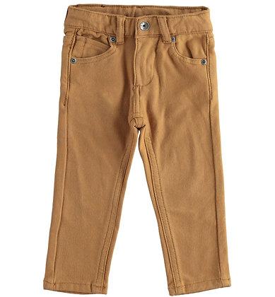 iDO - Dark Beige trousers in stretch fleece