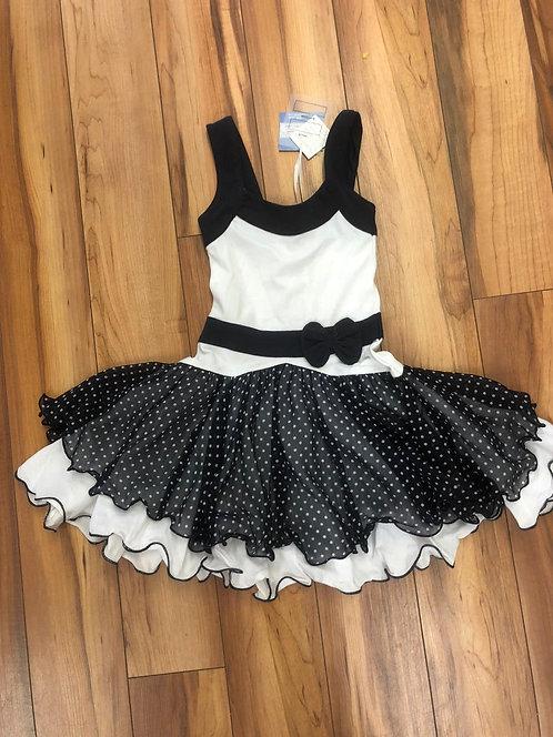 Lofff - Dark Blue and White Dress