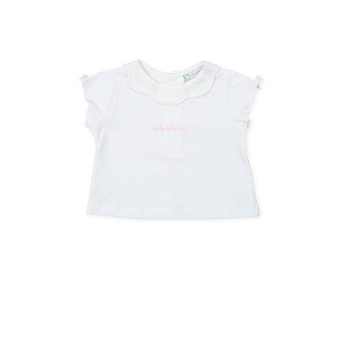 Tutto Piccolo - Cumbia White T-Shirt