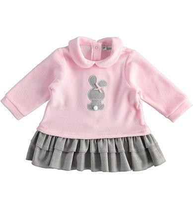 iDO - Pink Chenille Dress