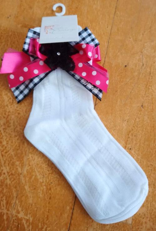 Little Darlings - Bow Ankle Socks