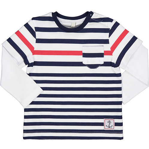 Birba - Stripe Long Sleeve T-Shirt