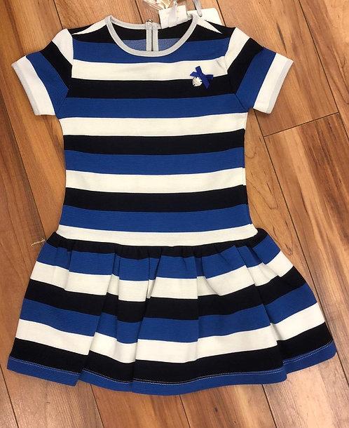 Le Chic - Stripe Blue Dress