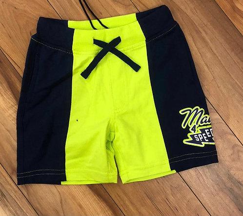 iDO Navy & Yellow Shorts