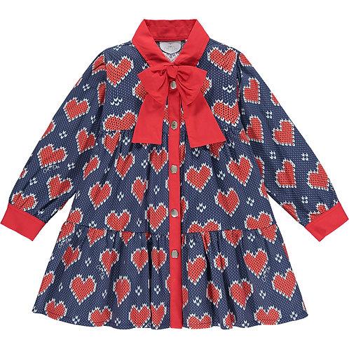 A Dee - Remy Heart Shirt Dress