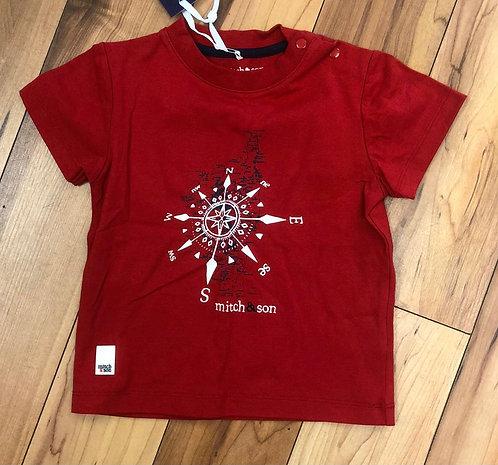 Mitch & Son Red  T-Shirt