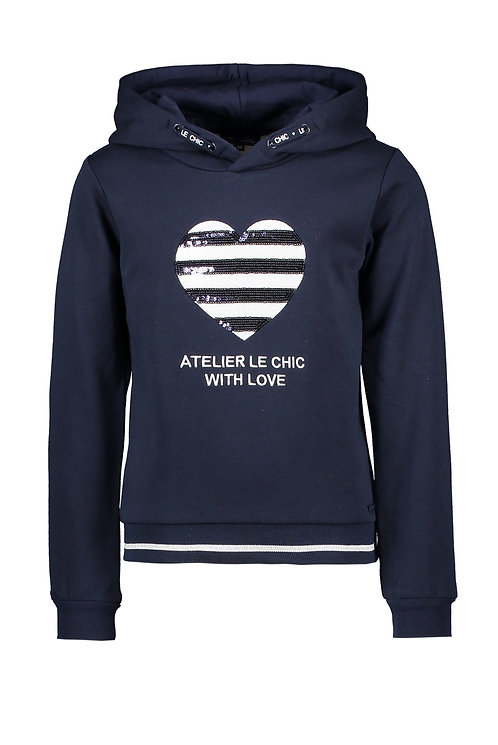 Le Chic - Odera Blue Navy Sweater