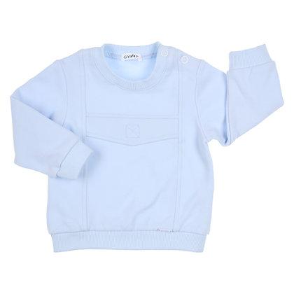 GYMP CARBONDOUX - Light Blue Sweater