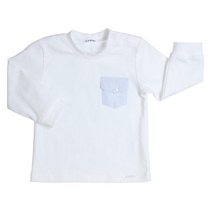 GYMP AERODOUX - White Long-Sleeve