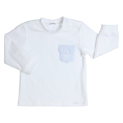 GYMP AERODOUX - White Long-Sleeve