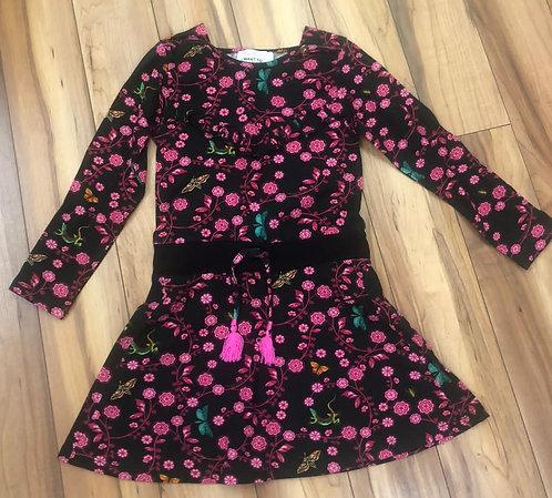 Mimpi  - Pink Floral Dress