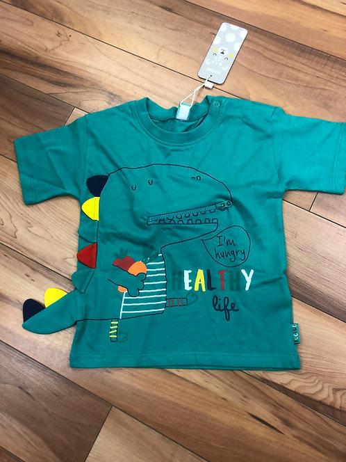 Tuc Tuc - Green Dinosaur T-Shirt