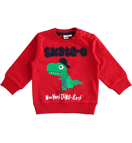 iDO - Red Dino Sweater