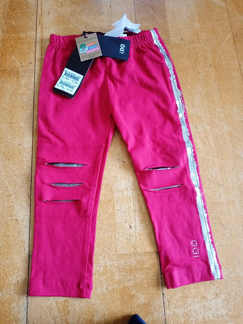 iDO Pink Leggings with Silver band