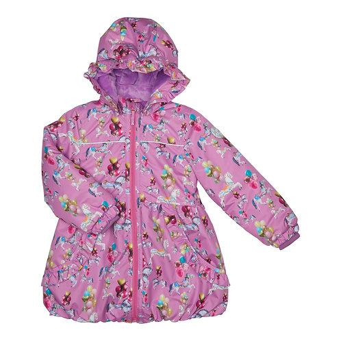 Happy Calegi - Purple Carousel Winter Jacket