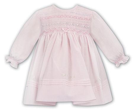 Sarah Louise - Pink Smocked Dress