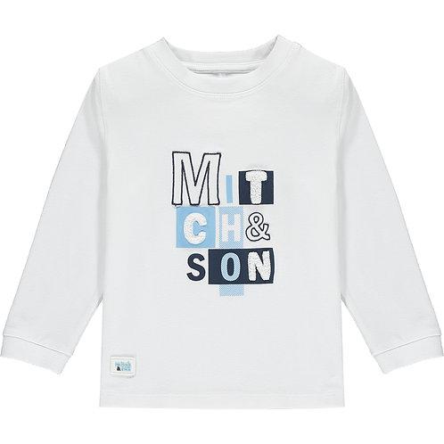 Mitch & Son - Pinkston White Long Sleeve