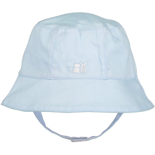 Gareth - Pale Blue Fishermans Hat