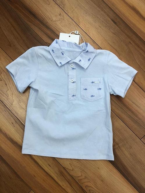 GYMP - Pale Blue Polo Shirt