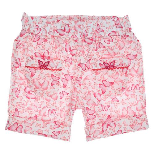 GYMP - White & Frambroise Shorts