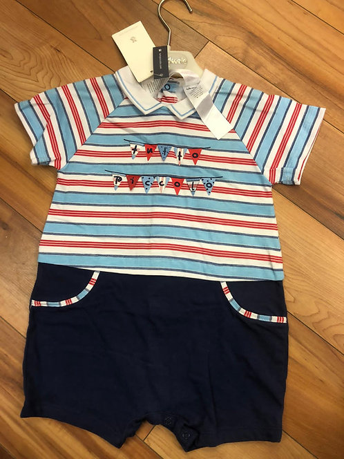 Tutto Piccolo Stripe Babygrow