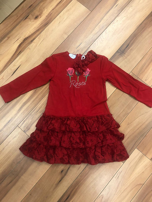 Arianna Dee - Duffy Red Rose Dress